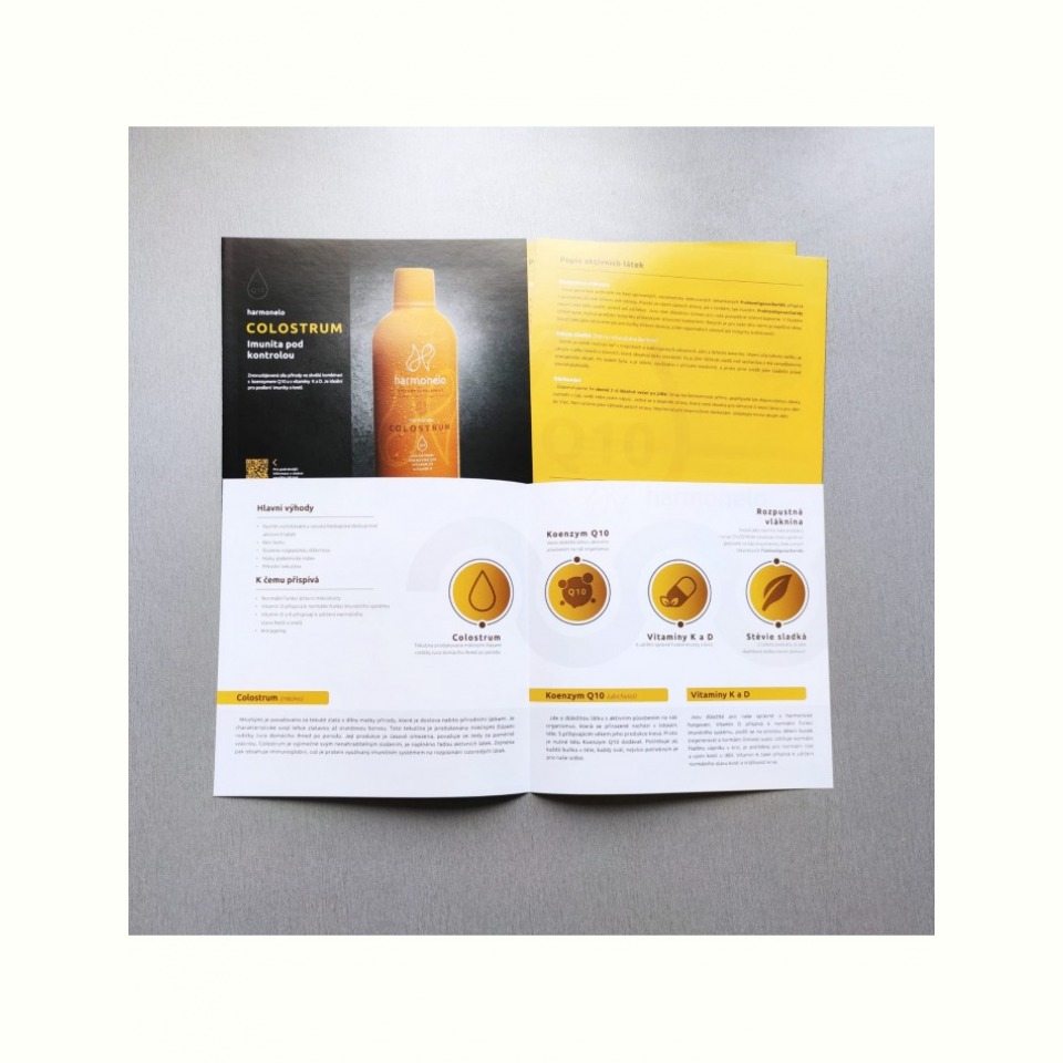 CZ Katalog produktů: Harmonelo Colostrum (česky)